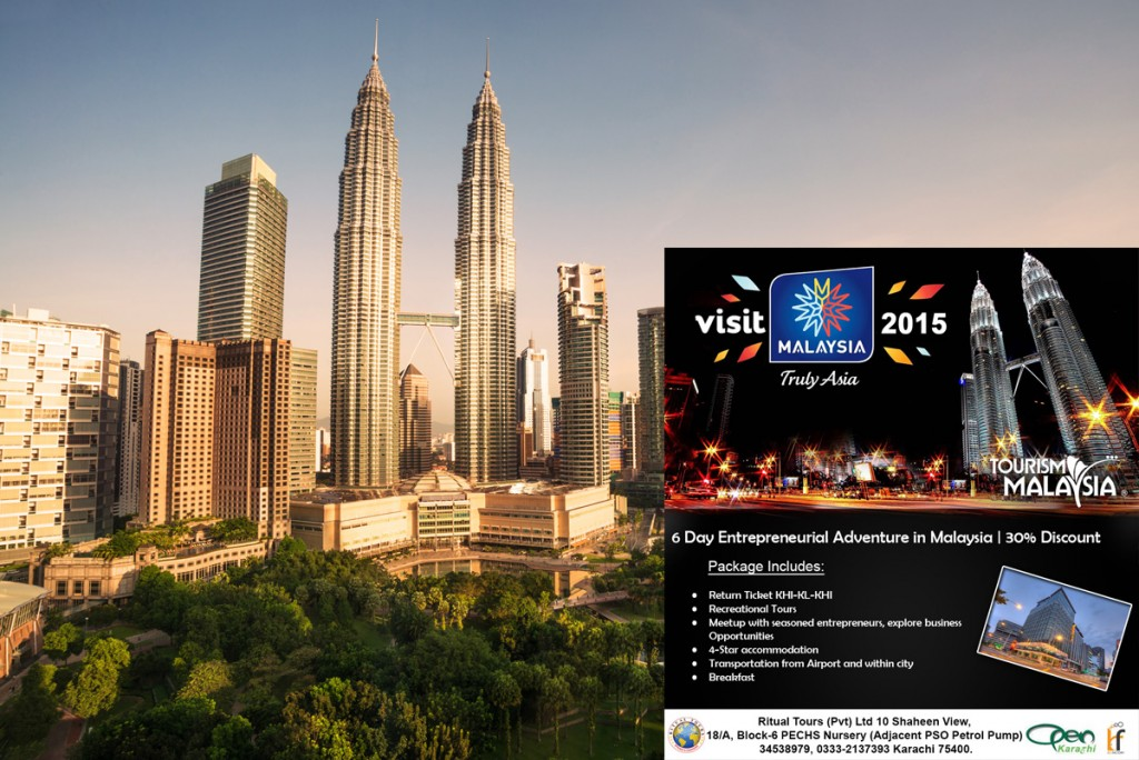 6 Day Entrepreneurial Adventure in Malaysia for Pakistani Entrepreneurs